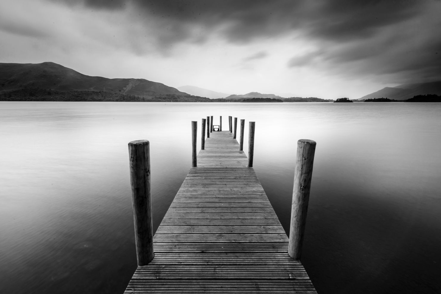 Jetty by the lake